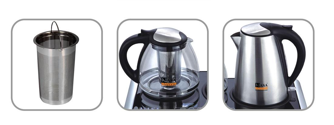 مشخصات قوری چای ساز NS-503