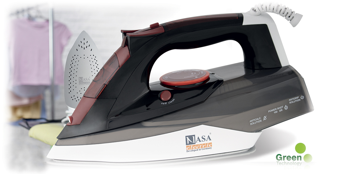 مشخصات ظاهری اتو بخار دستی ns-59