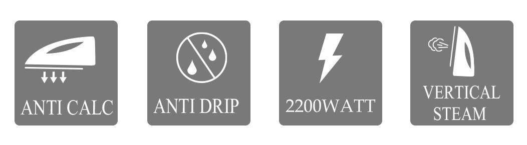 مشخصات فنی اتو بخار ناسا الکتریک NS-52