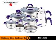 Stainless Steel Cookware Set NS-6051B