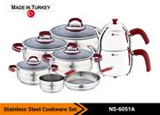 Stainless Steel Cookware Set NS-6051A