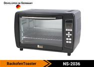 Backofen Toaster
