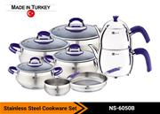 Stainless Steel Cookware Set Model NS-6050B