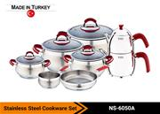 Stainless Steel Cookware Set NS-6050A